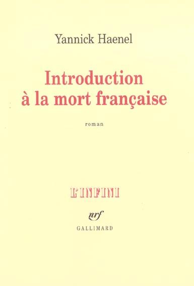 Introduction a la mort francaise