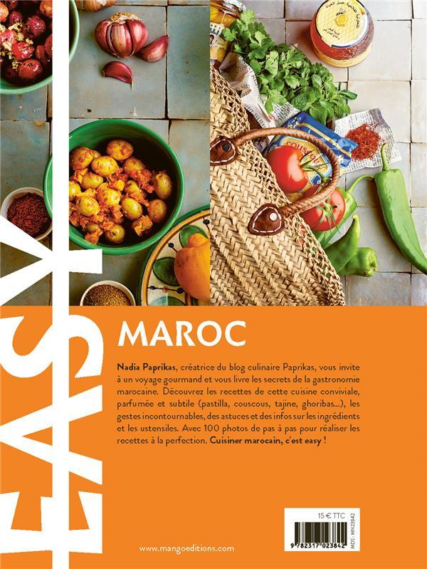 easy Maroc ; les meilleures recettes de mon pays tout en images
