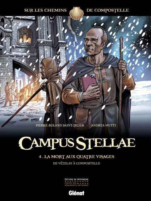 campus stellae, sur les chemins de Compostelle t.4 ; la mort aux quatre visages