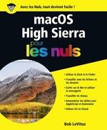 Vente Livre Numérique : MacOS High Sierra pour les Nuls grand format  - Bob LEVITUS