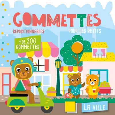 MON P'TIT HEMMA  -  GOMMETTES POUR LES PETITS : LA VILLE