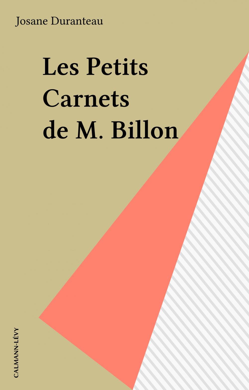 Les Petits Carnets de M. Billon