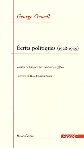 écrits politiques (1928-1949)