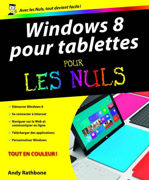 Windows 8 pour tablettes pour les nuls