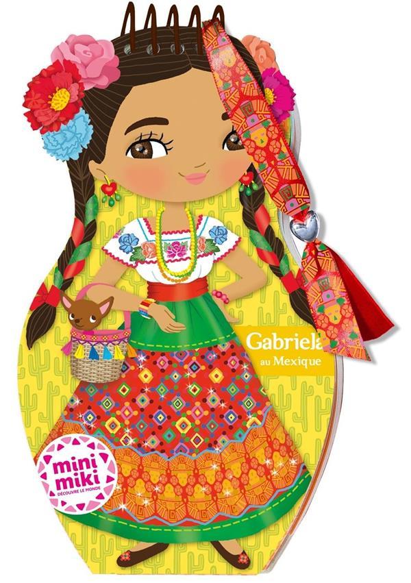 GABRIELA AU MEXIQUE  -  CARNET CREATIF