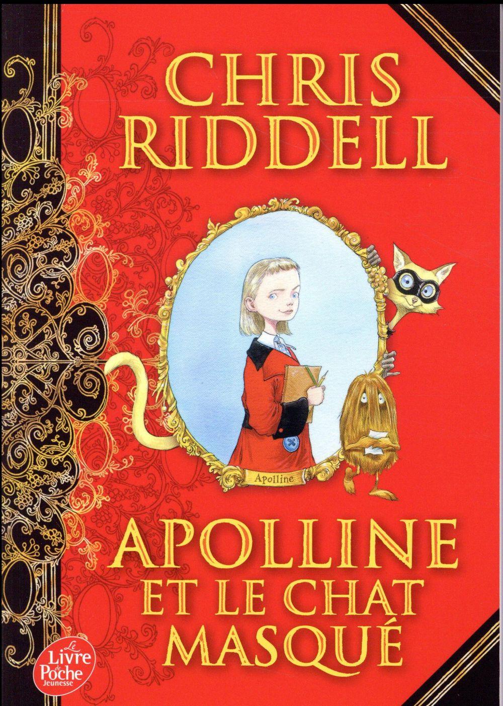 Apolline T.1 ; Apolline et le chat masqué