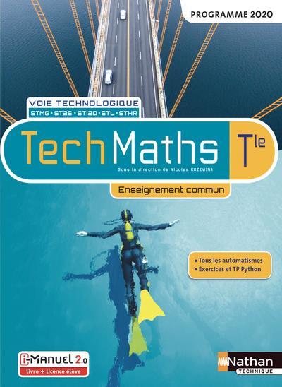 Techmaths ; terminale ST (édition 2020)