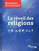 Vente Livre Numérique : Questions internationales : Le réveil des religions - n°95-96  - La Documentation française