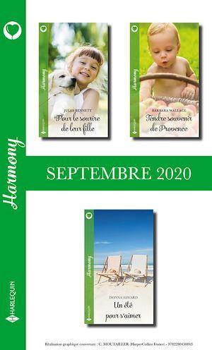 Vente Livre Numérique : Pack Mensuel Harmony : 3 romans (Septembre 2020)  - Jules Bennett  - Barbara Wallace  - Donna Alward