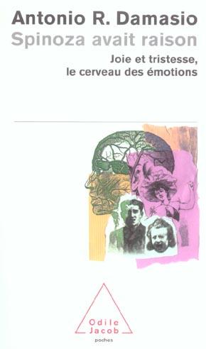 Spinoza avait raison - joie et tristesse, le cerveau des emotions