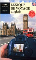 Lexique de voyage ; anglais