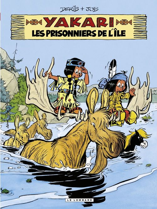 Yakari t.9 ; les prisonniers de l'île