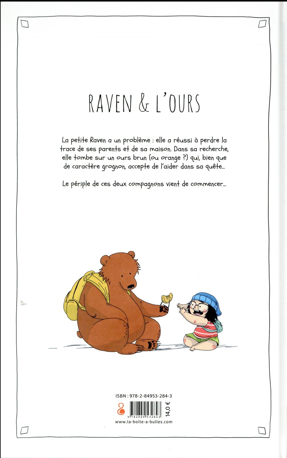 Raven & l'ours T.1