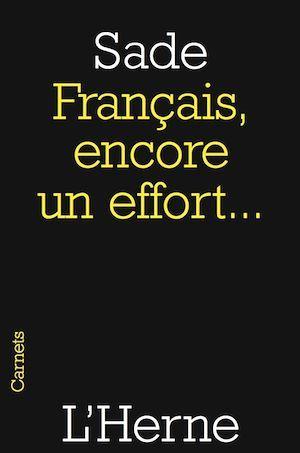 français encore un effort...