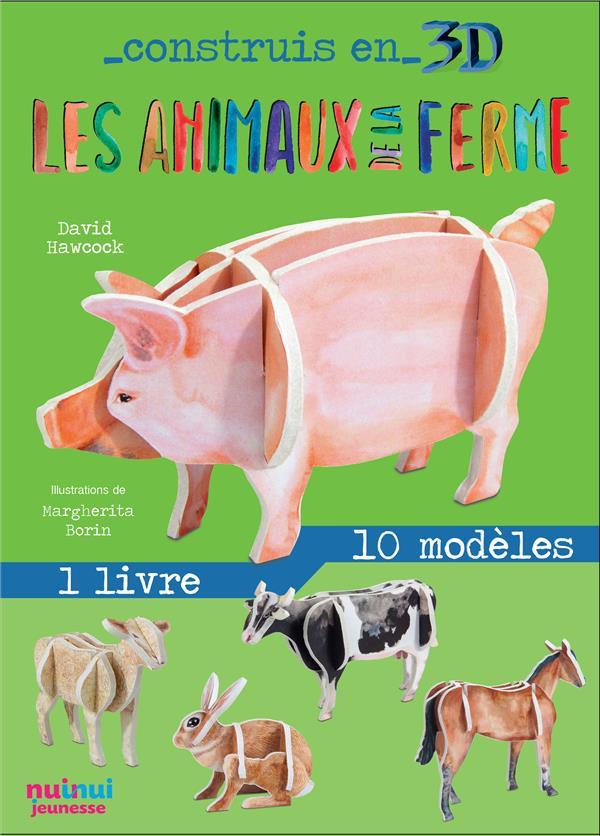 construis en 3D ; les animaux de la ferme