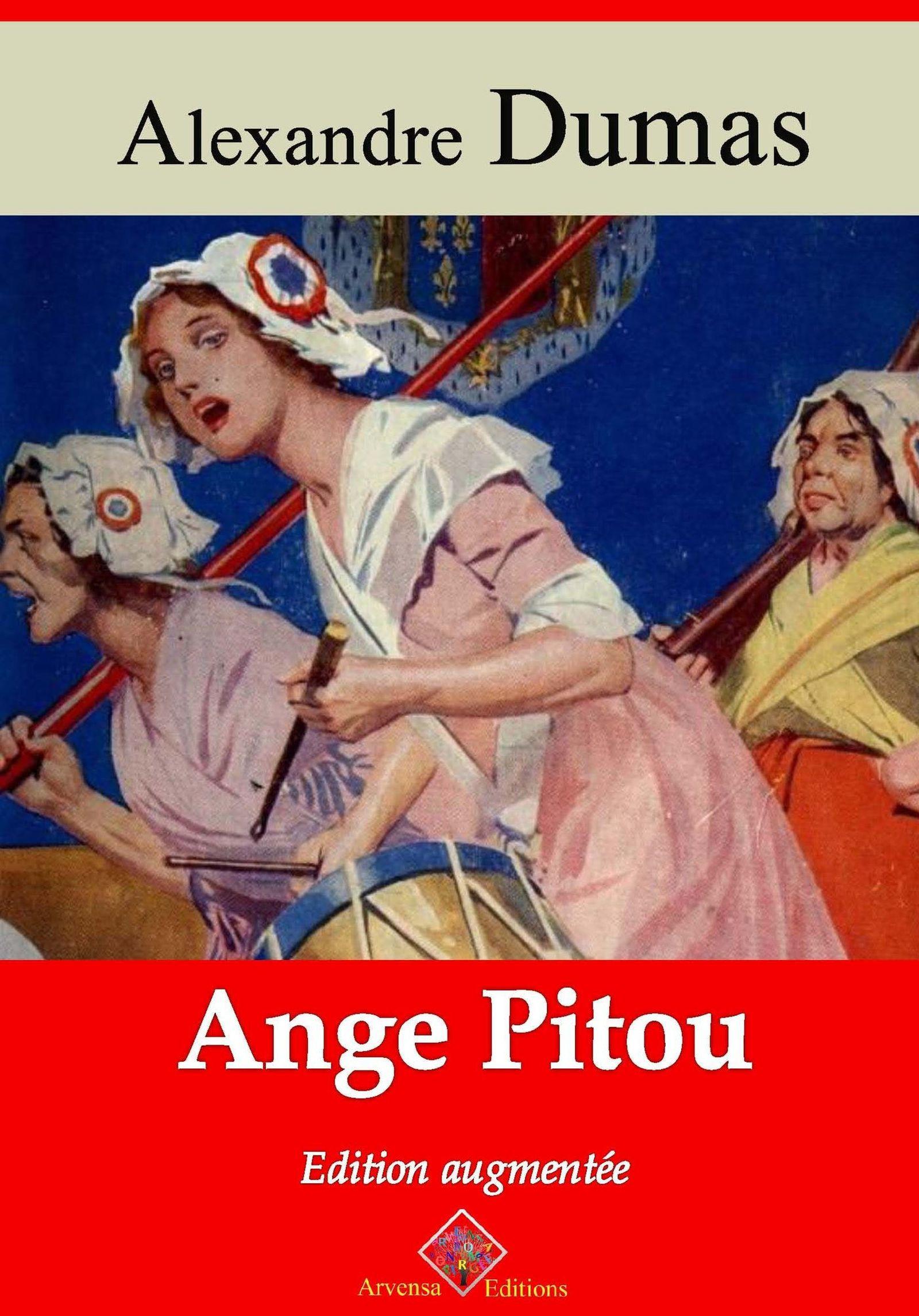 Vente EBooks : Ange Pitou - suivi d'annexes  - Alexandre Dumas 1802-1870