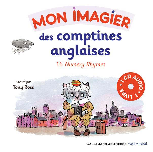 Mon imagier des comptines anglaises ; 16 nursery rhymes