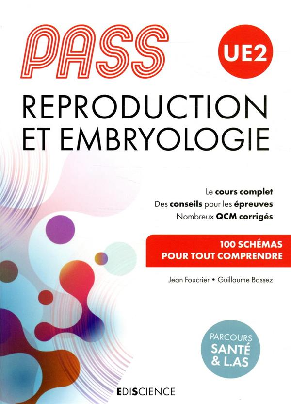 PASS UE2 ; reproduction et embryologie
