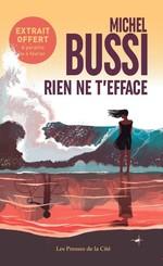 Vente EBooks : Rien ne t'efface (polar) - Extrait gratuit  - Michel Bussi