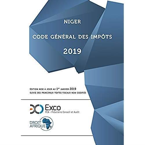 Niger ; code général des impôts (édition 2019)