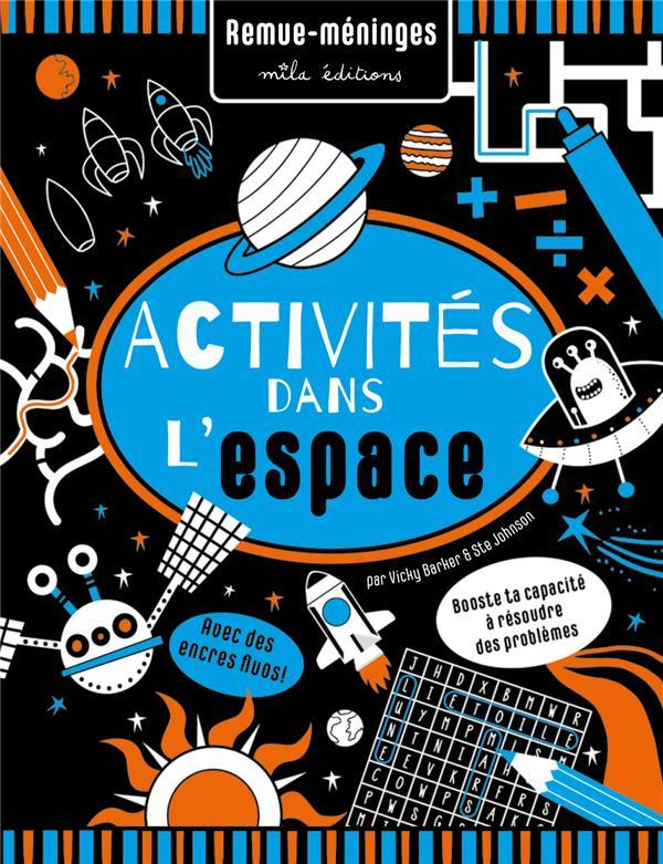 Activités dans l'espace