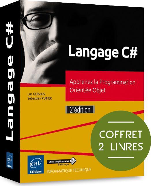 Langage C# : apprenez la Programmation Orientée Objet ; coffret de 2 livres (2e édition)