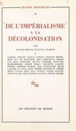 Vente Livre Numérique : De l'impérialisme à la décolonisation  - Kostas Axelos - Gabriel Ardant