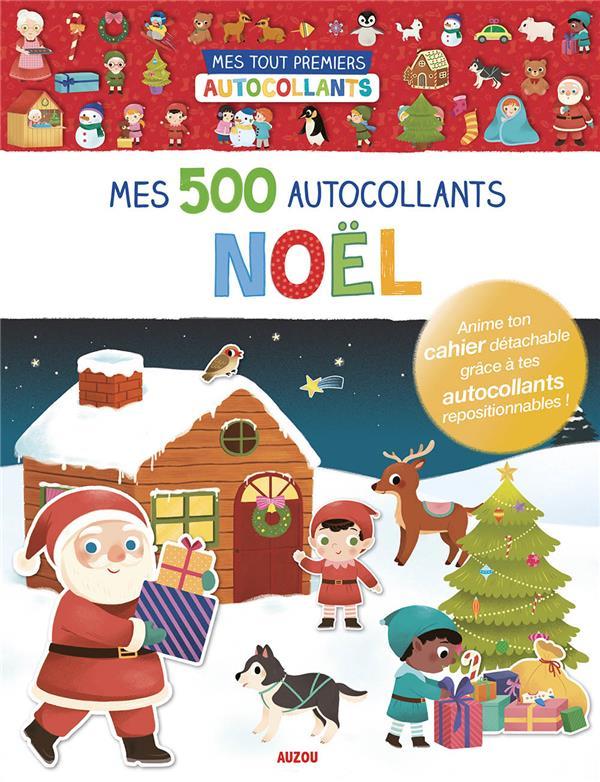 Mes 500 autocollants ; Noël