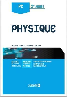 Physique ; PC, 2ème année