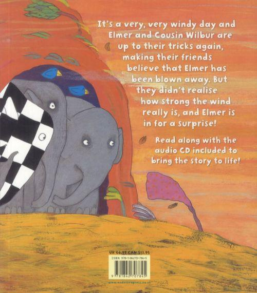 Elmer and the wind - book and cd