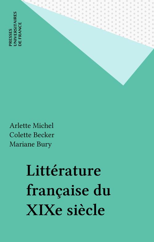 Littérature française du XIXe siècle