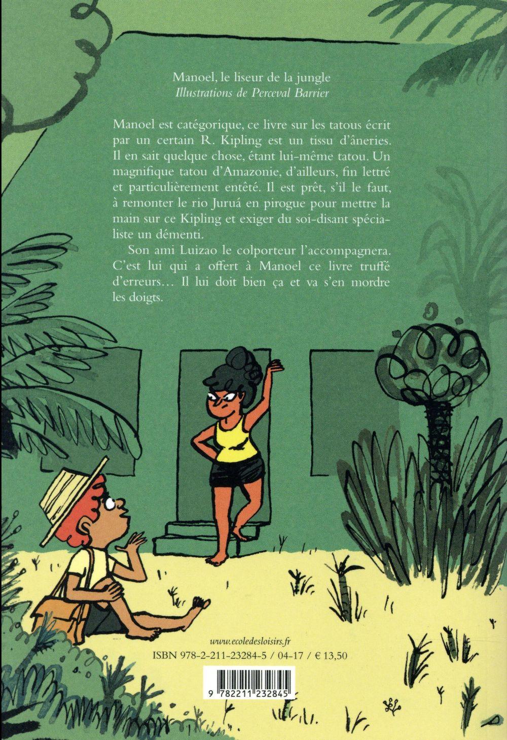 Manoel le liseur de la jungle