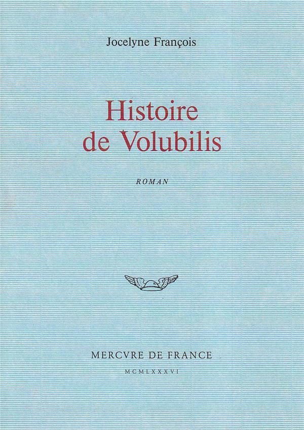 Histoire De Volubilis