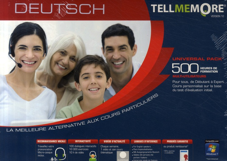 Tell Me More; Deutsch ; 500 Heures De Formation