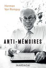 Vente Livre Numérique : Anti-mémoires  - Herman Van Rompuy