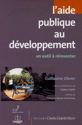 Aide Publique Au Developpement (L')
