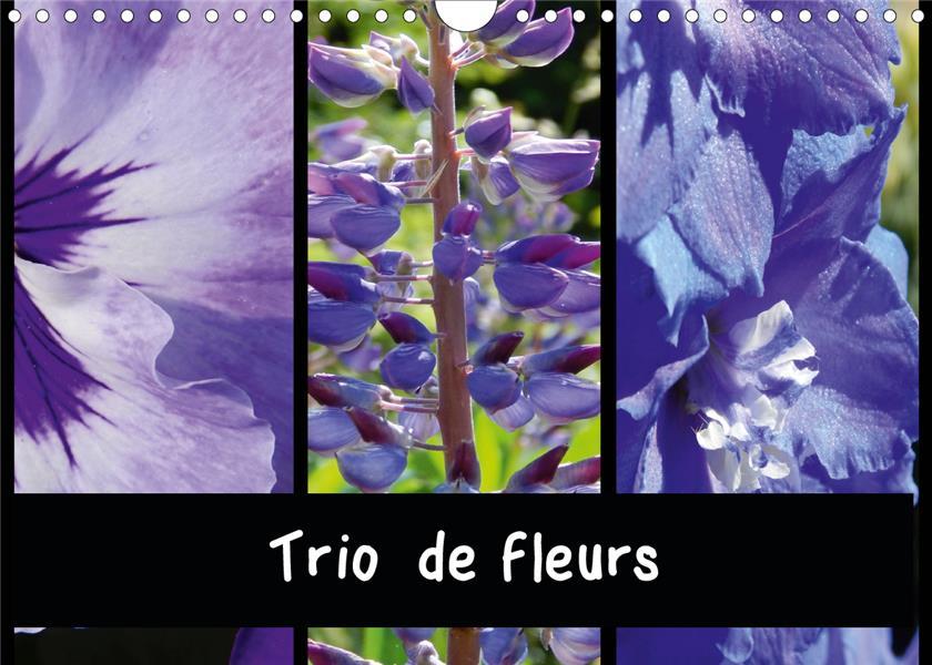 Trio de fleurs (édition 2020)