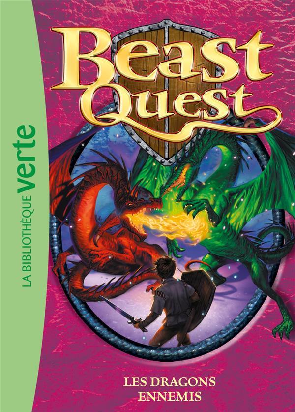 Beast Quest T.8 ; les dragons ennemis
