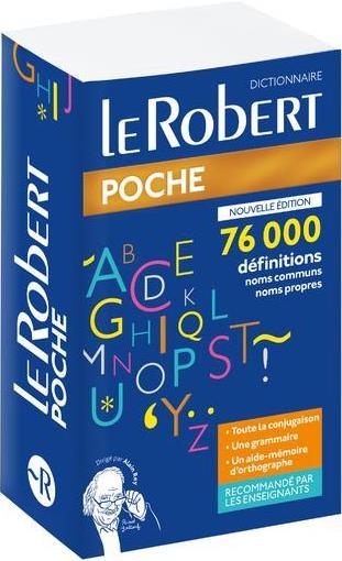 Dictionnaire le Robert de poche (édition 2019)