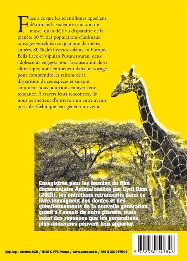 Animal : cahier militant