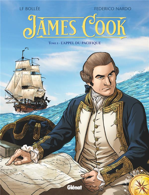 James cook T.1 ; l'appel du Pacifique