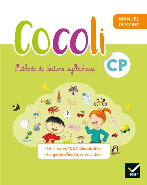 Cocoli ; lecture ; CP ; manuel de code élève (édition 2020)