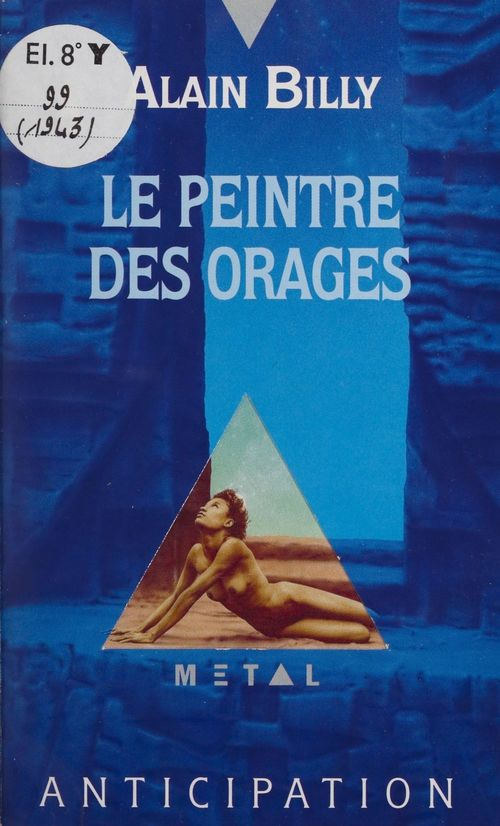 Vente E-Book :                                    Le Peintre des orages - Alain Billy
