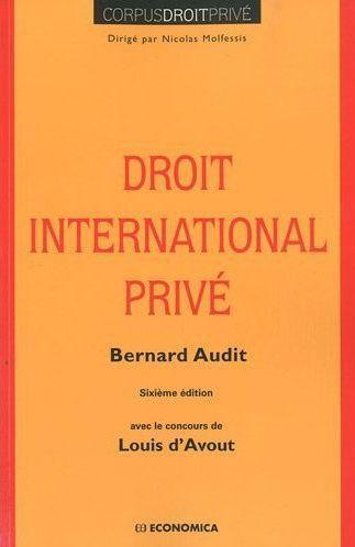 Droit international privé (6e édition)
