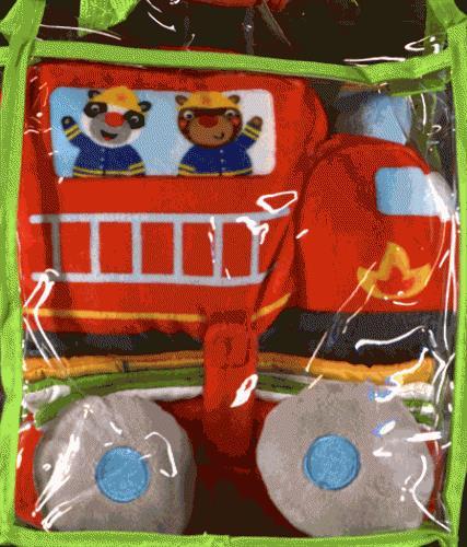 mon petit doudou ; ma voiture de pompier