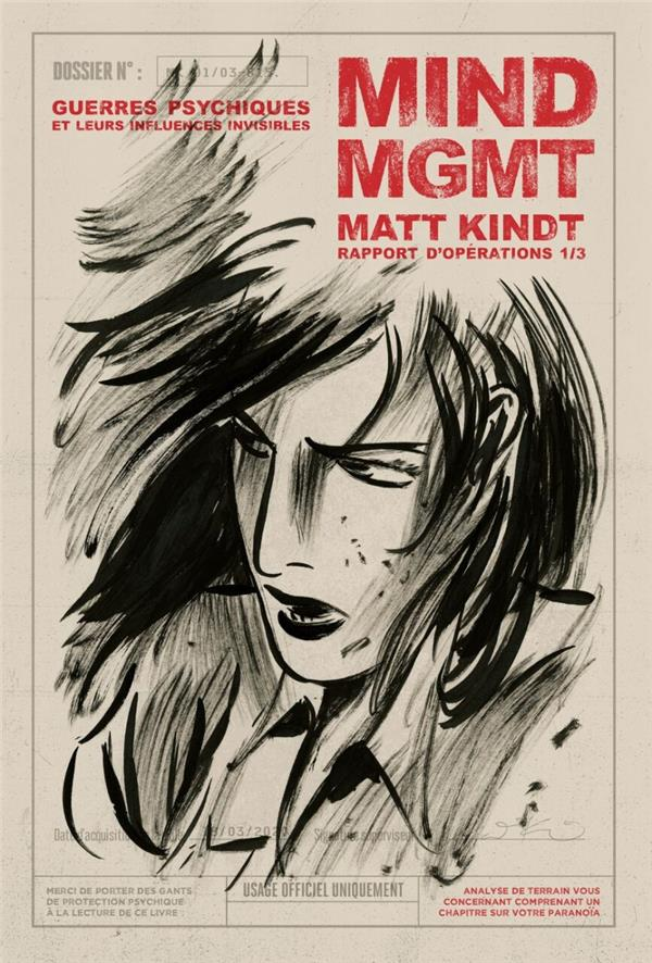 MIND MGMT ; rapport d'opérations T.1 ; guerres psychiques et leurs influences invisibles