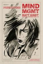 Couverture de Mind Mgmt Rapport D'Operation 1/3 - Guerres Psychiques Et Le