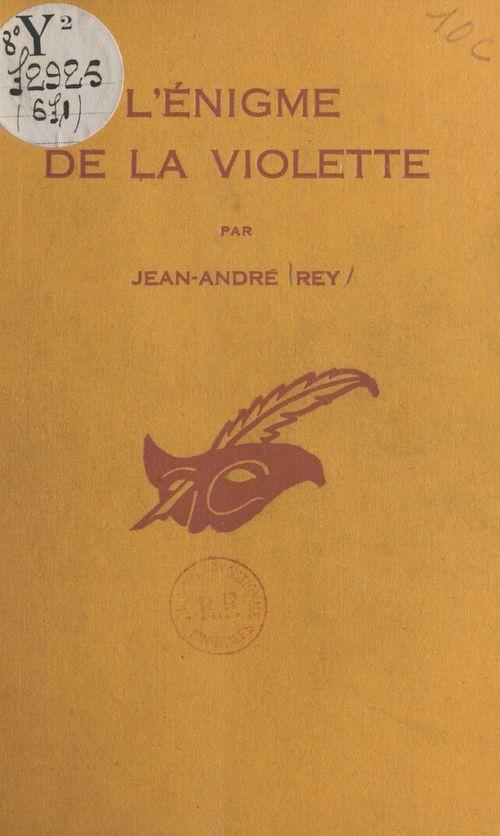 L'énigme de la violette