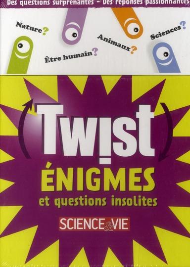 Twist ; 64 Enigmes Et Questions Insolites
