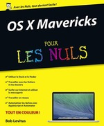 Vente Livre Numérique : OS X Mavericks Pour les Nuls  - Bob LEVITUS